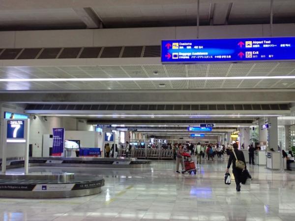 マニラ空港内