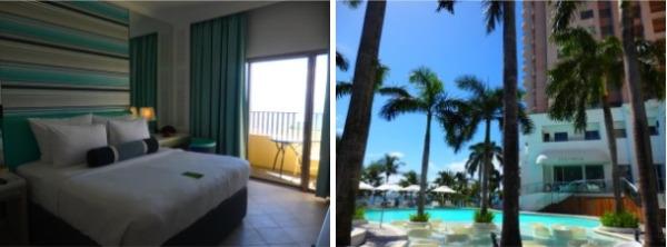 モーベンピックセブリゾート&スパ お部屋とプール