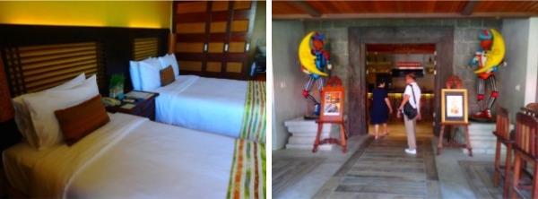 コスタベラトロピカルビーチリゾート お部屋とバー