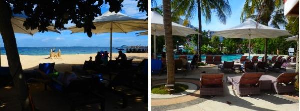 Jパークアイランドリゾート ビーチとプール
