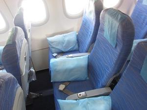 フィリピン航空 PR479便 エコノミー席