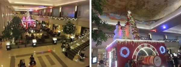 ウォーターフロントセブ クリスマスムード