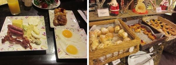 ウォーターフロントセブ 朝食