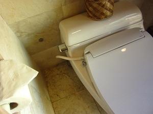 プルクラ ラグーンスイート トイレ