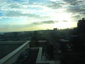 ラディソンブルホテル プレミアムルーム 眺望