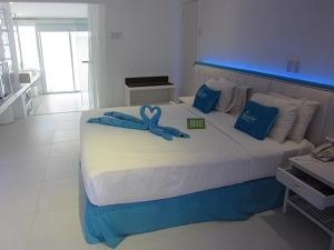 パシフィック セブ リゾート ヴィラ ベッドルーム