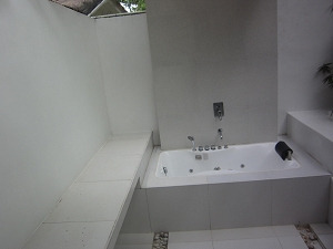 パシフィック セブ リゾート ヴィラ バスルーム