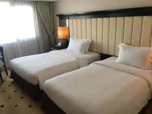 Jパークアイランドリゾート セブスイート ベッドルーム