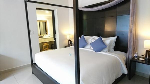 2ベッドルームプールヴィラ ベッドルーム