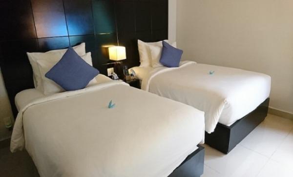 2ベッドルームプールヴィラ 寝室