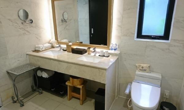 2ベッドルームプールヴィラ トイレ