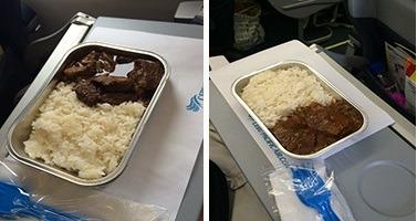 セブパシフィック航空 機内食