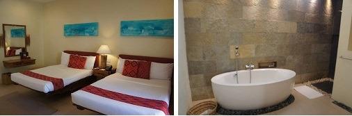 ブルーウォーター マリバゴ ビーチ リゾート プレミア デラックス