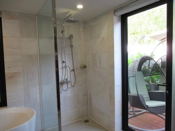 1ベッドルームプールヴィラ シャワー