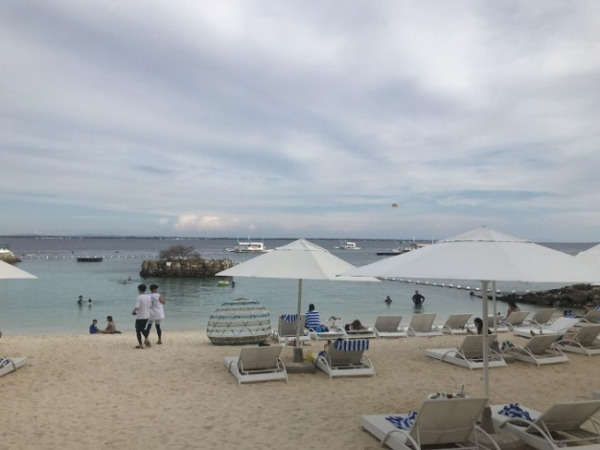 モーベンピック セブ リゾート&スパ プライベートビーチ