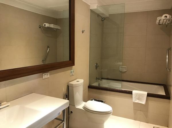 デラックスプールサイドプライベートバルコニー バスルーム