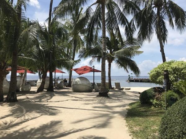 コスタベラ・トロピカル・ビーチ・ホテル プライベートビーチ