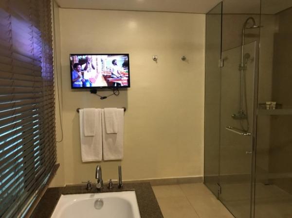 デラックスガーデンルーム バスルーム