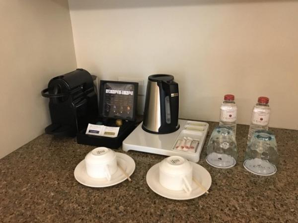 デラックスガーデンルーム コーヒーメーカー