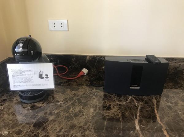 シーフロントジャグジーヴィラ Bluetoothのスピーカー