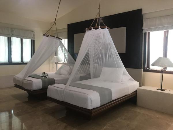 プールガーデンヴィラ ベッドルーム
