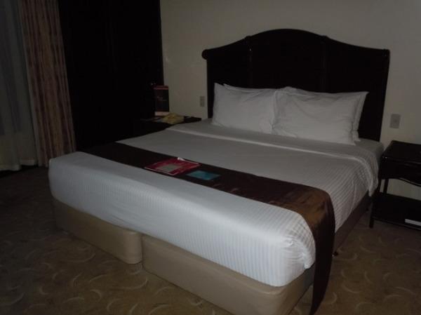 アンバサダースィート リラックスできる落ち着いた雰囲気の寝室