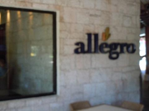 ブルーウォーター マリバゴ ビーチ リゾート メインレストラン「アレグロ」