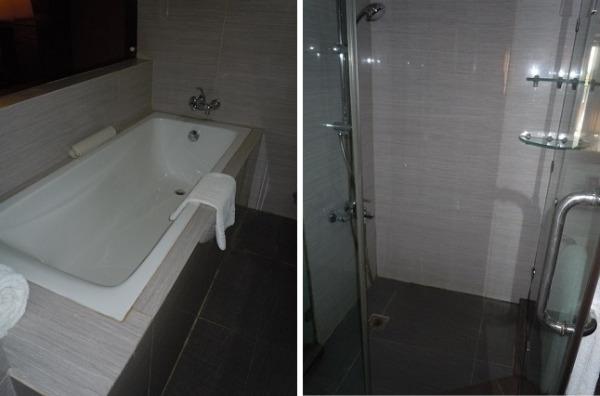 オーシャンビュースィートルーム バスルーム   シャワールーム