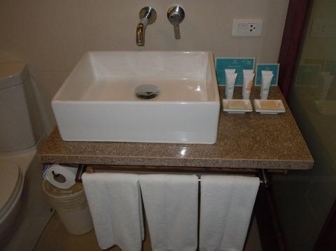 スーペリアルーム 洗面台