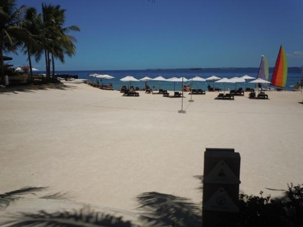 クリムソン リゾート&スパ マクタン プライベートビーチ