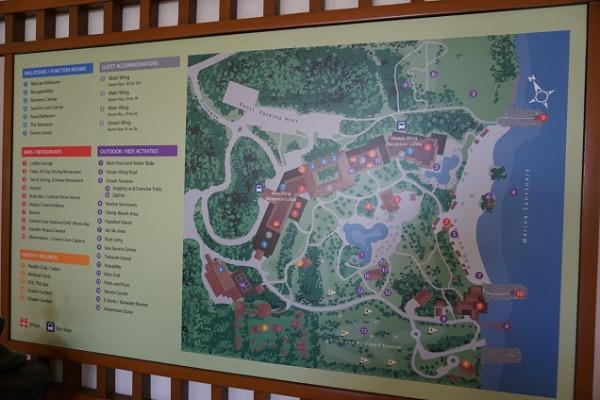 シャングリ・ラ マクタン リゾートマップ
