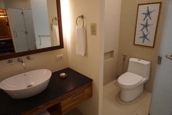 プレミアデラックスルーム トイレ