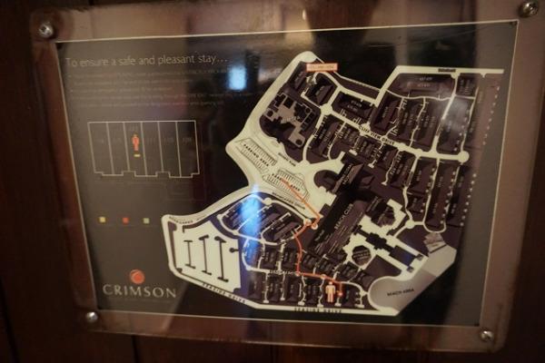 クリムソン リゾート&スパ マクタン リゾートマップ