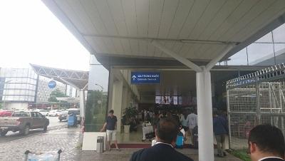 国内線ターミナル(徒歩2,3分)