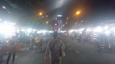 ベンタン市場周辺ナイトマーケット
