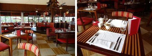 ザ・セントレジス バリ リゾート 「ボネカレストラン」 店内