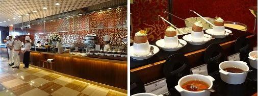 ザ・セントレジス バリ リゾート 朝食 アラカルトのメニューコーナー