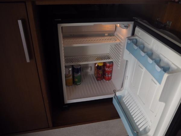 ザ・バレ シングル・パビリオンの冷蔵庫