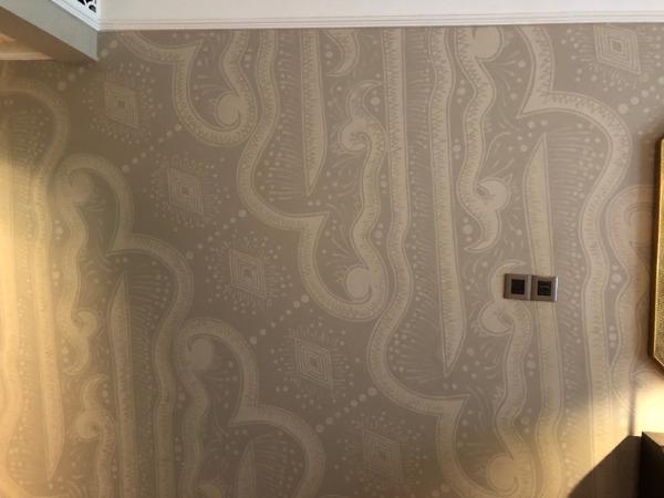 インターコンチネンタルバリリゾート ジンバランデラックス壁画