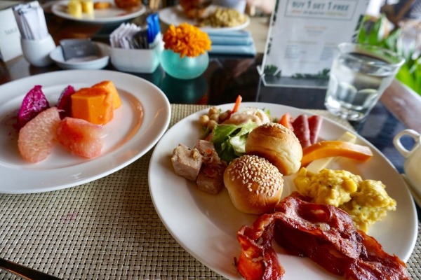 パドマリゾートレギャン 朝食