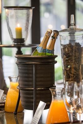 「ザ・レストラン」 朝食ブッフェ シャンパン