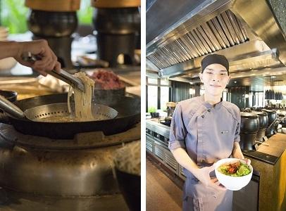 「ザ・レストラン」 朝食ブッフェ 麺料理